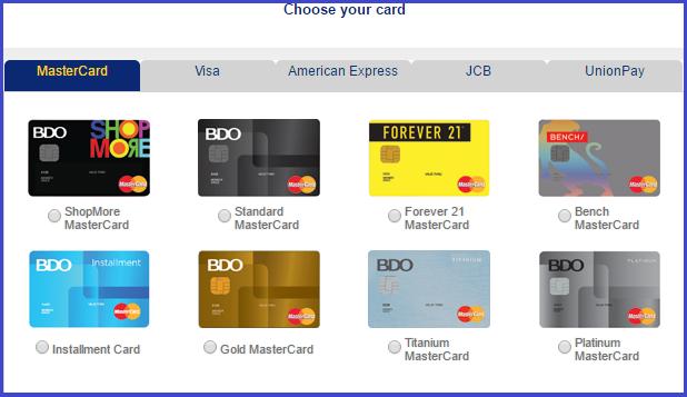 bdo credit card requirements  the pinay investor